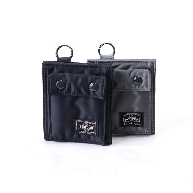 吉田カバン ポーター タンカー 二つ折り財布 / PORTER TANKER 622-68168 wallet リニューアル 小銭入れあり