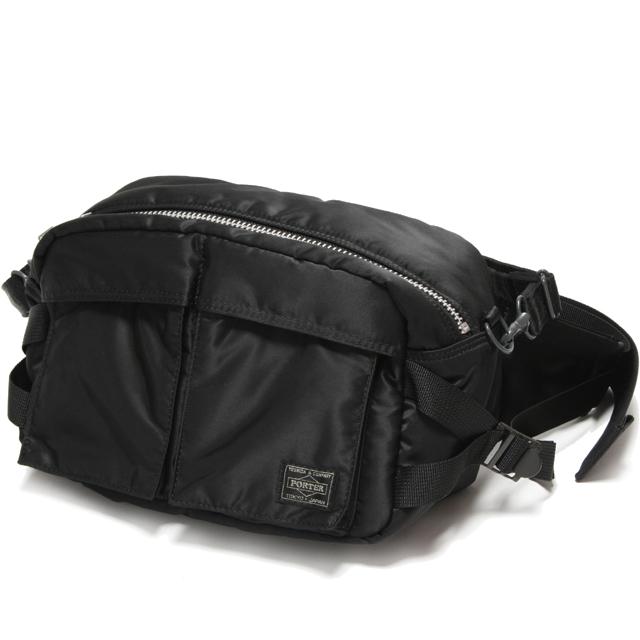 cae469d8e0a5 auc-sanjo-tanaka  Yoshida Kaban Porter tanker waist bag (L) and ...