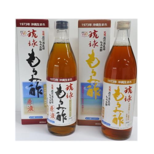 お好みの数を組み合わせ 毎日続々入荷 石川酒造場 琉球もろみ酢 原液 900ml×12本チョイス 黒糖 送料無料 期間限定特価品
