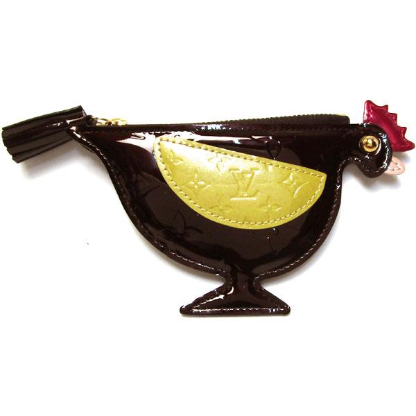 ルイ・ヴィトン コインケース M91406 ヴェルニ ポシェットコック アマラント他 中古 グレード:S サンヤ質店