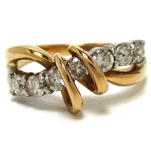 メーカー再生品 ノーブランド リング 指輪 ダイヤモンド ついに再販開始 K18 グレード:リサイクル 中古 サンヤ質店 Pt900 洗浄のみ