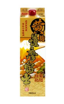 薩摩芋焼酎 濱田酒造 黄麹 25度 1800mlパック 薩摩富士 祝日 安売り
