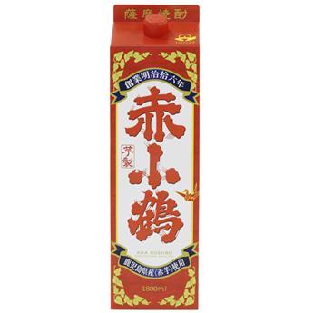 新発売 赤芋仕込 小正醸造 赤小鶴 薩摩芋焼酎 信憑 1800mlパック NEW ARRIVAL 25度