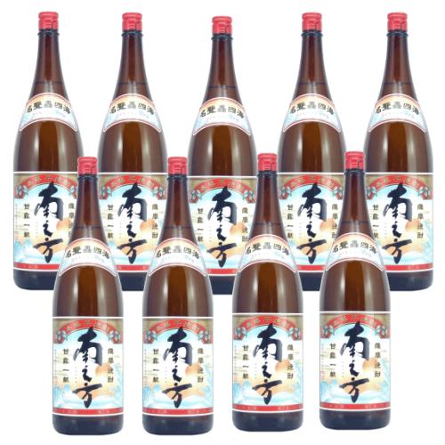 北海道 東北地方は送料無料対象外 東北 北海道は送料700円 送料無料 薩摩芋焼酎 1800ml×9本 鹿児島限定 25度 南之方 薩摩酒造 豪華な 店舗 新