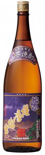 頴娃紫芋使用 注文後の変更キャンセル返品 濱田酒造 傅藏院蔵 本物 紫 1800ml 25度 薩摩芋焼酎 薩摩富士