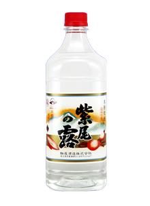 軸屋酒造 紫尾の露 25度 新生活 1800ml 薩摩芋焼酎 ペット 全店販売中