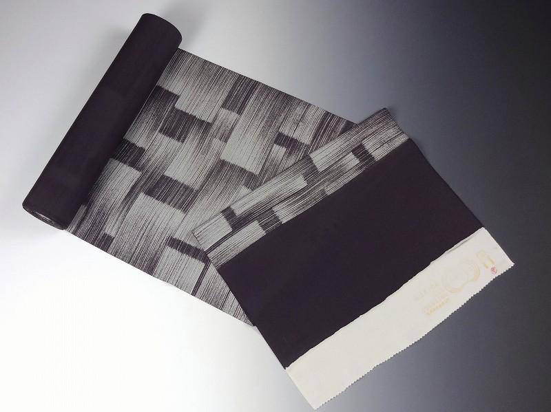 【送料無料】【フルオーダー手縫いお仕立て込み】【反物購入可能】 京都魔法の染物「夢黄櫨染」 丹後ちりめん 小紋 かすり染め 紫みの茶色