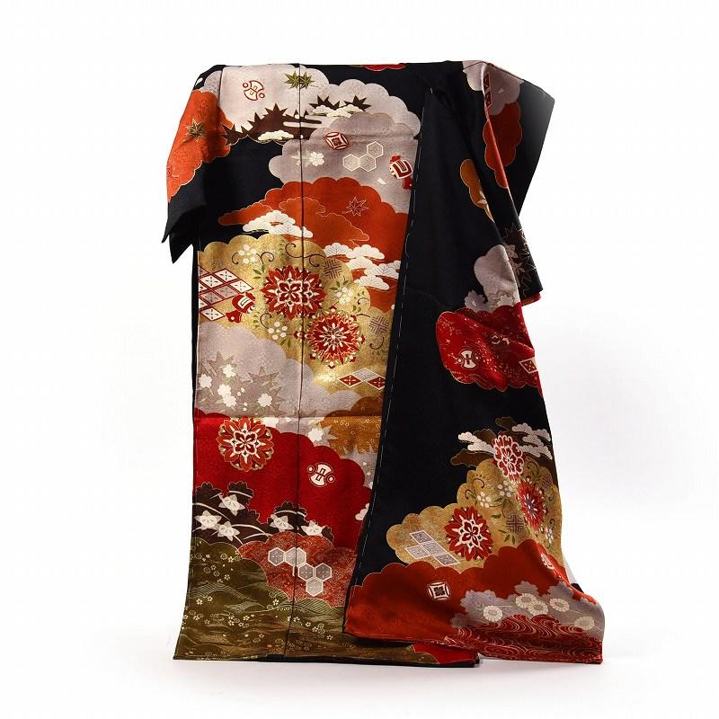 振袖 フルオーダー手縫いお仕立て付き 逸品!京友禅の老舗「内と良」謹製 手描き 御振袖