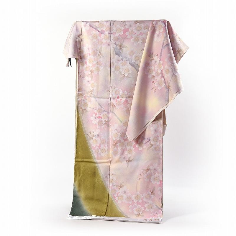 訪問着 フルオーダー手縫いお仕立て付き 輝く栄冠 京友禅競技大会受賞柄 訪問着 『特別賞』