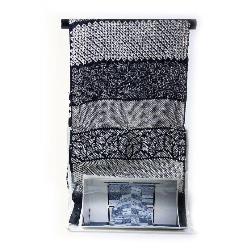 小紋 フルオーダー手縫いお仕立て込み 本疋田・縫い締め 多種類総絞り【送料無料】