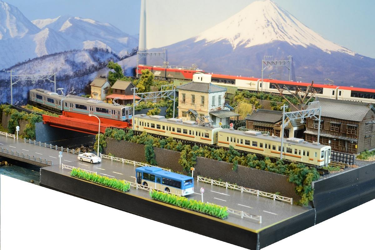 「送料込み」Nゲージ鉄道模型用展示台 【60x45】4線路●注文製作●