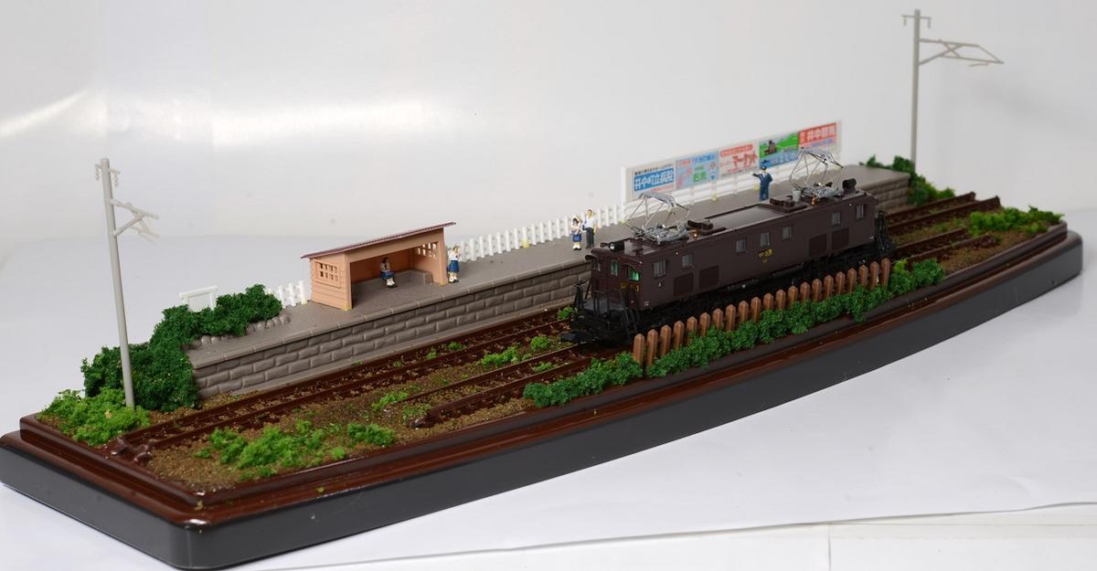 Nゲージ鉄道模型用展示台ケース付きB●注文製作●