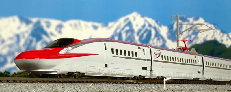 鉄道模型 Nゲージ KATO(カトー)【10-1566+10-1567】E6系新幹線「こまち」 基本セット(3両)+増結セット(4両)「6月発売予定予約商品」