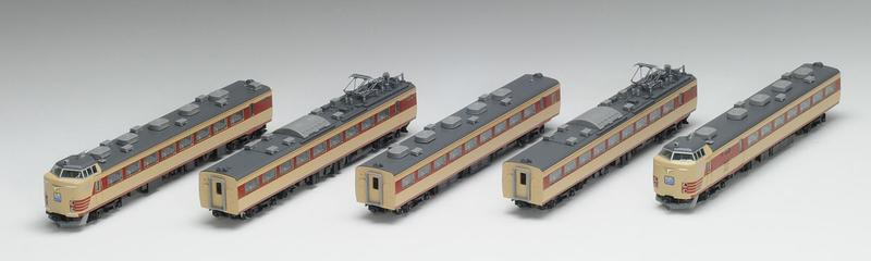 鉄道模型 Nゲージ TOMIX(トミックス)【92592】JR 485系特急電車(Do32編成・復活国鉄色)5両セット