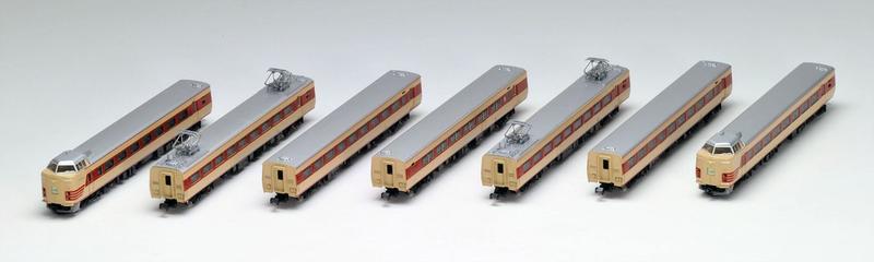 鉄道模型 Nゲージ TOMIX(トミックス)【92895】国鉄 381 0系特急電車基本7両セット