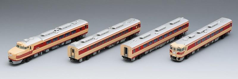鉄道模型 Nゲージ TOMIX(トミックス)【98311】キハ81・82系特急ディーゼルカー(くろしお)基本セット(4両)