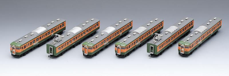 鉄道模型 Nゲージ TOMIX(トミックス)【98989】115 1000系近郊電車(高崎車両センター・ありがとう115系)セット (6両)
