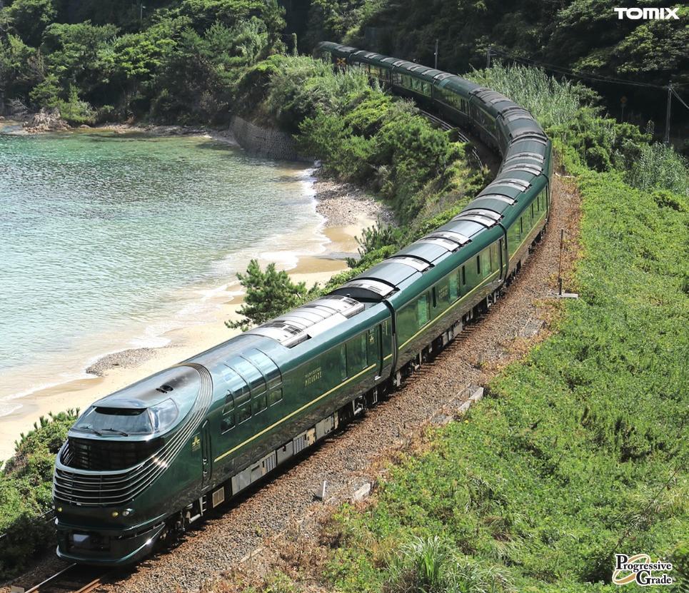 鉄道模型 Nゲージ TOMIX(トミックス)【97912】「限定」87系(TWILIGHT EXPRESS 瑞風)セット(10両)「9月発売予定予約商品」
