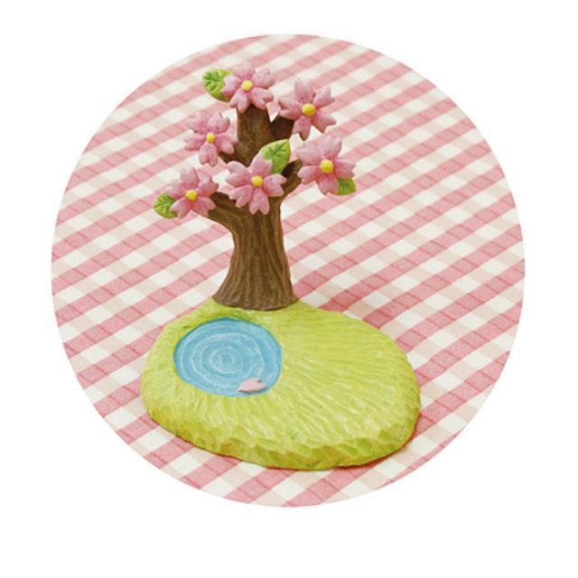 ガーデン マスコット ナチュラル雑貨 ガーデンマスコット お花見ハッピーノーティー Natural雑貨 桜 マーケット 100%品質保証 池 Garden