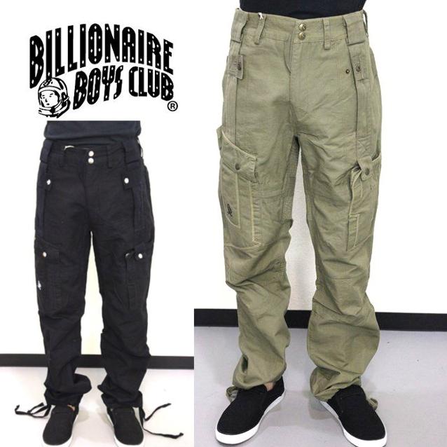 セール50%オフ BILLIONAIRE BOYS CLUB ビリオネアボーイズクラブ BAQ PANTS ロングパンツ
