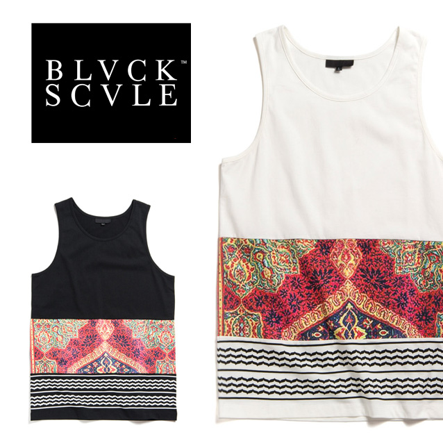 Black Scale Mens The Nervi Tank Top