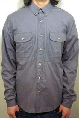 セール BLACK SCALE ブラックスケール GREYSTON 長袖 カッターシャツ