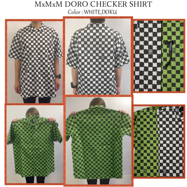MAGICAL MOSH MISFITS マジカルモッシュミスフィッツ MxMxM DORO CHECKER SHIRT