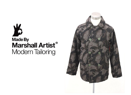 MARSHALL ARTISTS マーシャルアーティス LINED VINTAGE PEACOAT ピーコート 送料無料