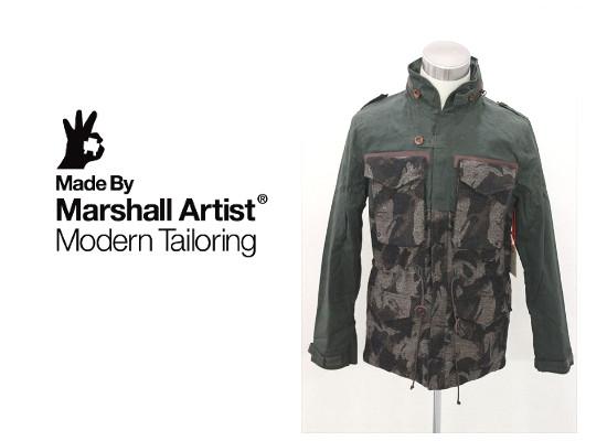 セール50%オフ MARSHALL ARTISTS マーシャルアーティス LINED VINTAGE M-65 JACKET ジャケット 送料無料
