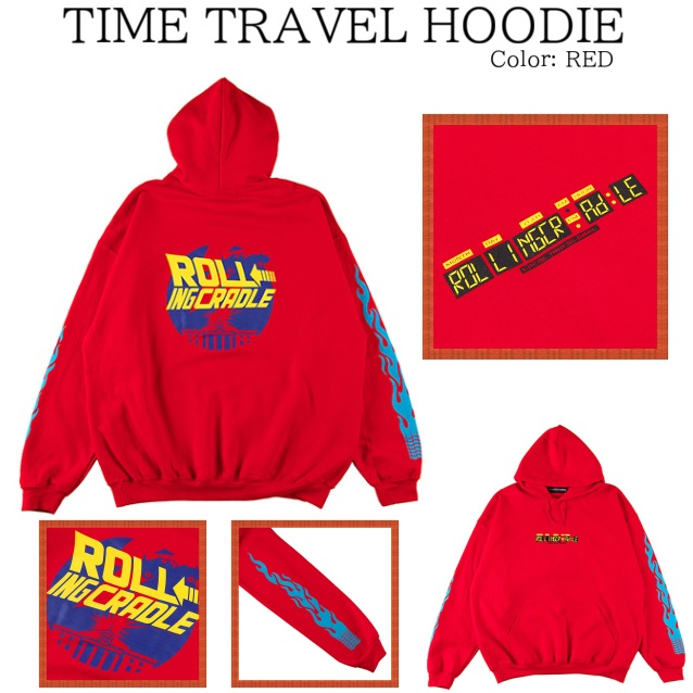 ROLLING CRADLE ローリングクレイドル TIME TRAVEL HOODIE