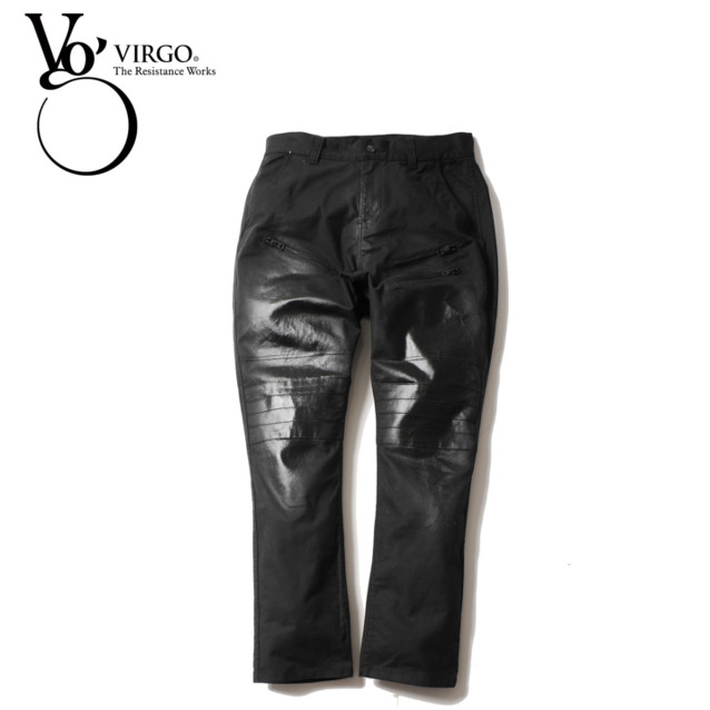 VIRGO ヴァルゴ Special bikers coating pants ロングパンツ