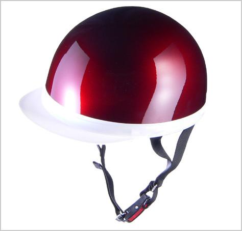 根強い人気のハーフヘルメット リード工業 CROSS CR-740 ハーフヘルメット キャンディーレッド 奉呈 半帽 アウトレット 半ヘル クロス LEAD