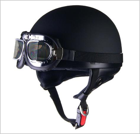 大きいサイズのベーシックなビンテージハーフヘルメット リード工業 CROSS CR-751 買物 絶品 ビンテージハーフヘルメット 半帽 マットブラック クロス 半ヘル LEAD