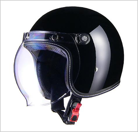 【リード工業】 Murrey MR-70 ジェットヘルメット ブラック /LEAD マーレー マーレィ