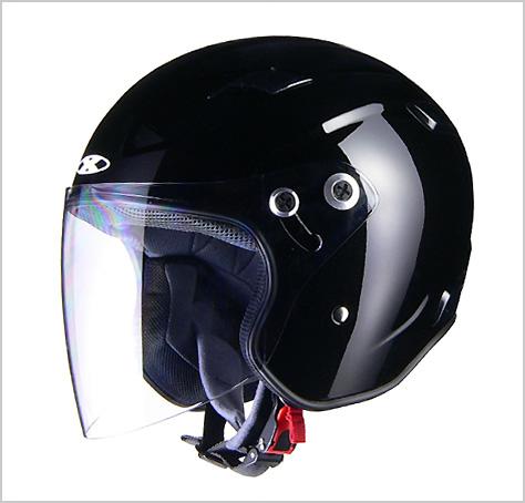 【リード工業】 X-AIR RAZZOIII ジェットヘルメット ブラック /LEAD ラッツォ エックス エアー