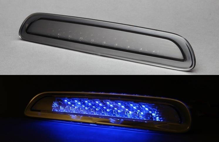 ハイエース 200系 1型・2型・3型前期用 LEDハイマウントランプ (ブラックホール:ブルー)