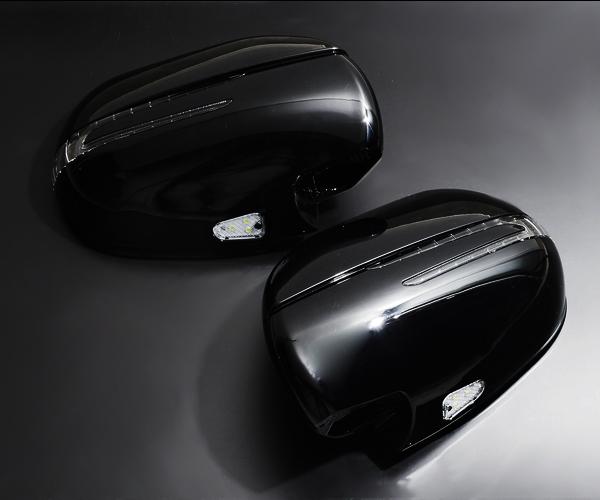 (フェガーリ) ハイエース 200系 デビルクローウィンカーミラー ブラックマイカ(209)