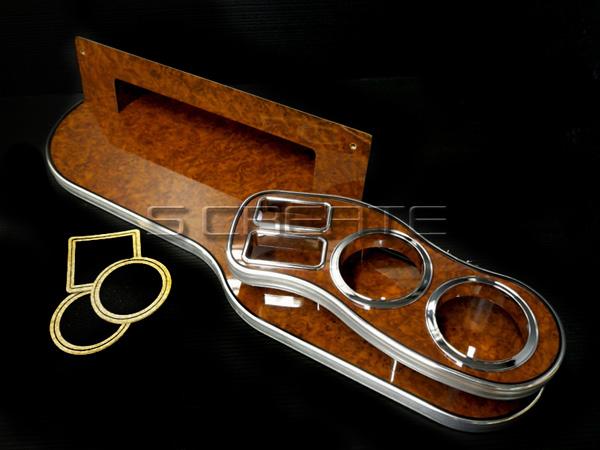 【限定1】【即納OK】【高品質日本製】LUNA フロントテーブル(茶木目) S-MX RH1/RH2/ルナインターナショナル