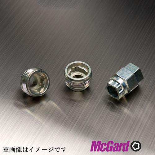 McGard(マックガード) ロックナット(貫通ナット(黒キャップ)) 球面 M14×1.5