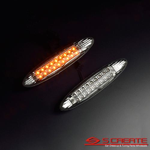 サイドビューをスタイリッシュに変身 レクサス IS SE2#系 LEDクリスタルサイドマーカー ウインカー 新作からSALEアイテム等お得な商品満載 スモークタイプ winker 捧呈 ウィンカー
