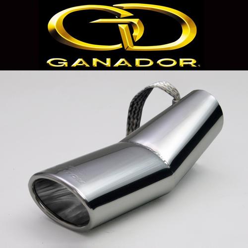 GANADOR ガナドール マフラーカッター プリウス(DAA-ZVW30/DLA-ZVW35) 105X70φ オーバル MF-001 / ファントム テールフィニッシャー PHANTOM Tail Finisher