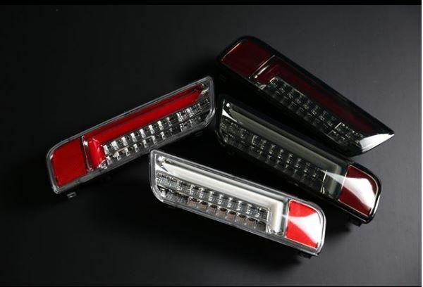 MBRO フル LED テール アルト HA36S HA36V シーケンシャルウインカー ※4色設定有り / エムブロ 流れるウインカー 切替スイッチ付 ALTO
