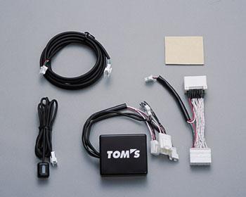 TOMS トムス カローラランクス NZE121用 リミテッド・ナビスペシャル TV&NAVIジャンパー 純正品番09001-TTV72