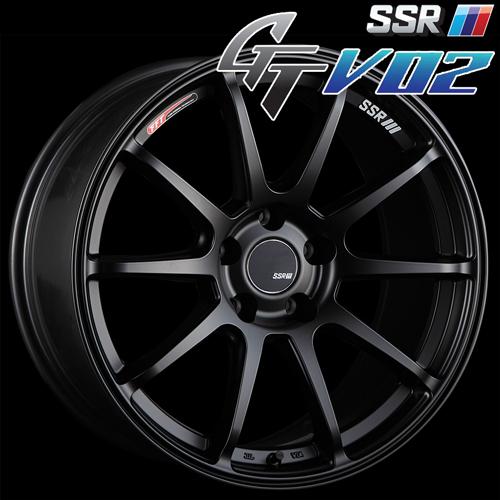 SSR GTV-02 알루미 휠(1개) 18 x8. 5 +40 114.3 5구멍(플랫 블랙) / GT지티 1 피스 1 PIECE 1 P GTV02 18 인치