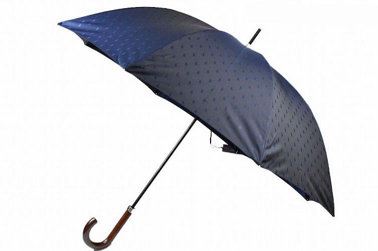 ラルフローレン メンズ ブランド 雨傘 Ralph Lauren 軽量 父の日 ギフト ネイビー 65cm 紳士 長傘 あす楽 商い 系 世界の人気ブランド ロゴデザイン 男性