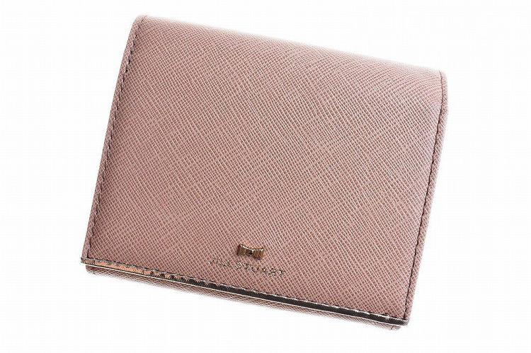 ジルスチュアート 財布 二つ折り財布 レディース ブランド JILLSTUART プリズム フラップ 箱無 ピンクベージュ 系 | 女性 婦人 訳あり【あす楽】