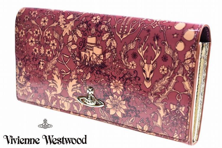 ヴィヴィアン ウエストウッド 長財布 財布 レディース ブランド Vivienne Westwood フラップ 箱無 ディアスポラ ワインレッド | 女性 婦人 本革 3118V002 【あす楽】