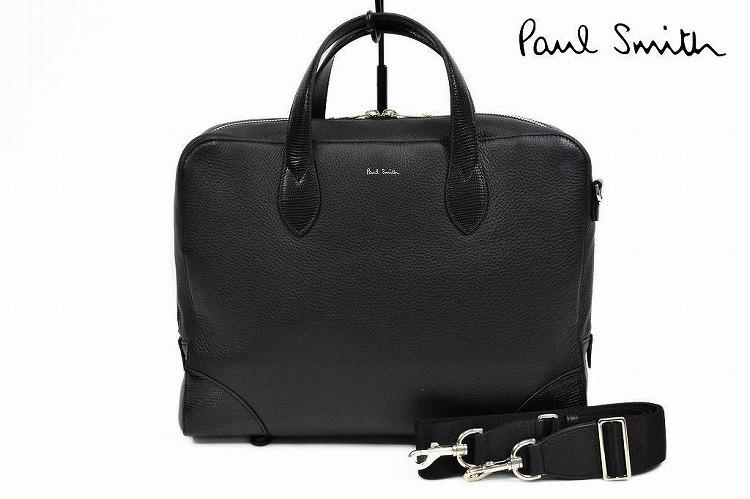 ポールスミス ビジネス バッグ メンズ ブランド Paul Smith 2way クラシックテック 黒 ブラック   男性 紳士 PSN531 【あす楽】