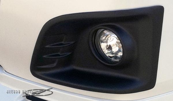 ハイエース 200系 3型前期ワイド フォグカバー マットブラック