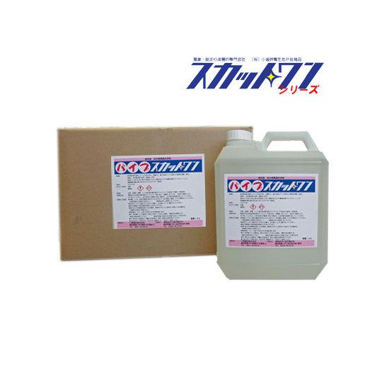 排水管洗浄剤 パイプスカットワン(4L×4本/ケース)